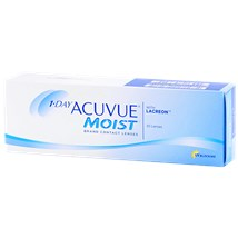 1-DAY ACUVUE MOIST 30 Pack contacts