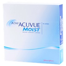 1-DAY ACUVUE MOIST 90pk contacts
