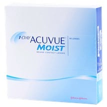 1-DAY ACUVUE MOIST 90 Pack contacts
