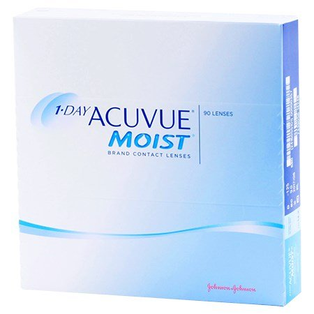 1-DAY ACUVUE MOIST 90 Pack contact lenses
