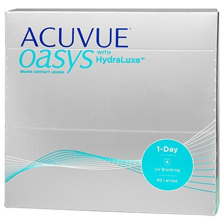 ACUVUE OASYS 1-Day with HydraLuxe 90 pack contact lenses