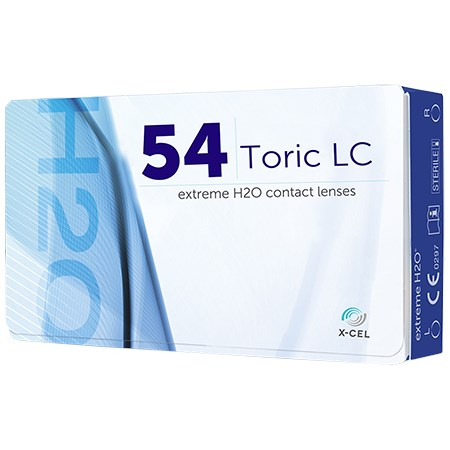 Extreme H2O 54 Toric 6 Pack contact lenses