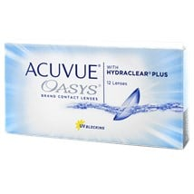ACUVUE OASYS 2-Week 12 Pack contact lenses