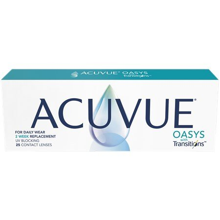 ACUVUE OASYS with Transitions 25 Pack contacts