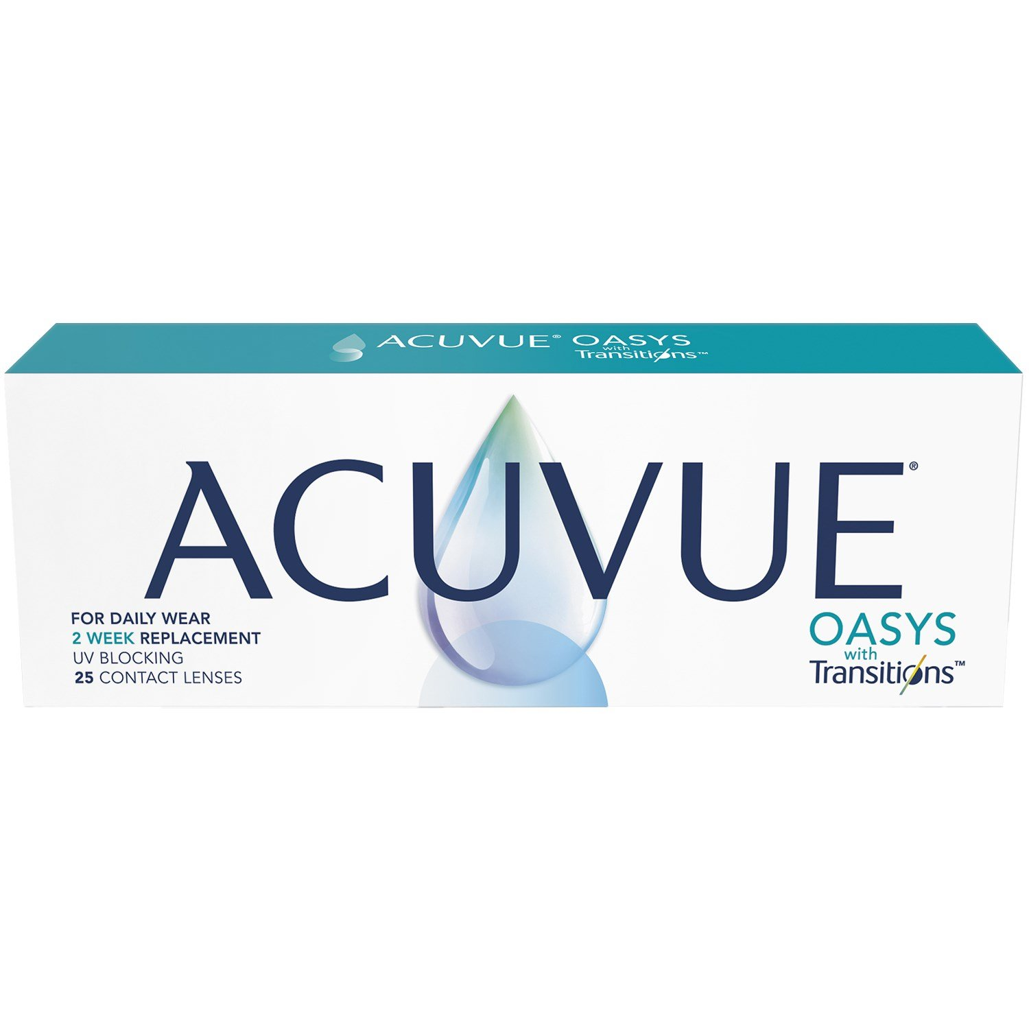 ACUVUE OASYS with Transitions 25 Pack contact lenses