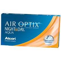 AIR OPTIX NIGHT & DAY AQUA Subscription 3-Pack contacts