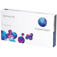 Biofinity XR contact lenses