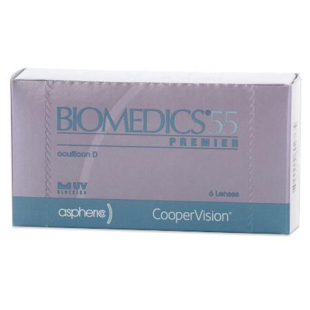 Biomedics 55 premier contacts