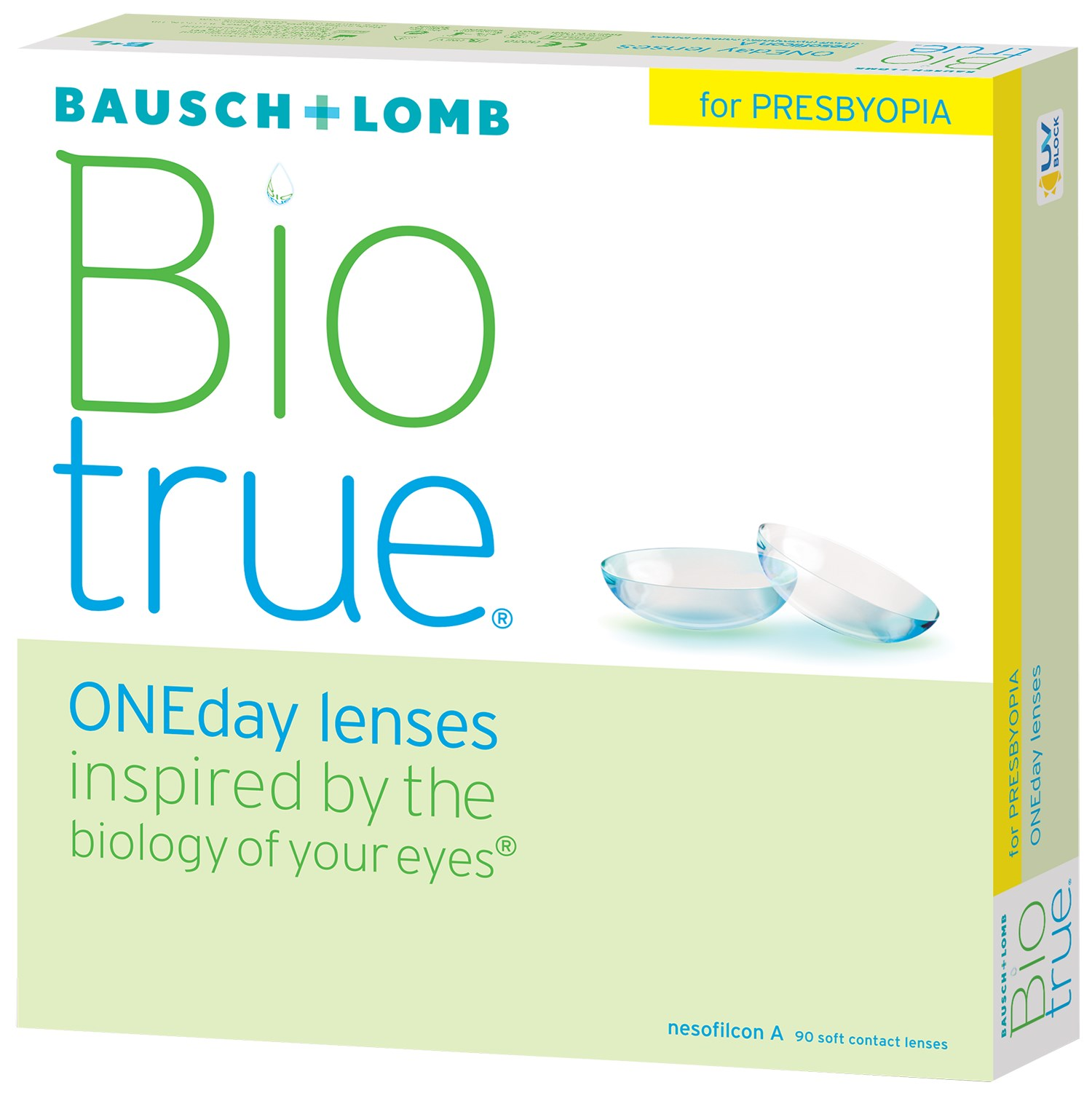 Biotrue ONEday for Presbyopia 90pk contact lenses