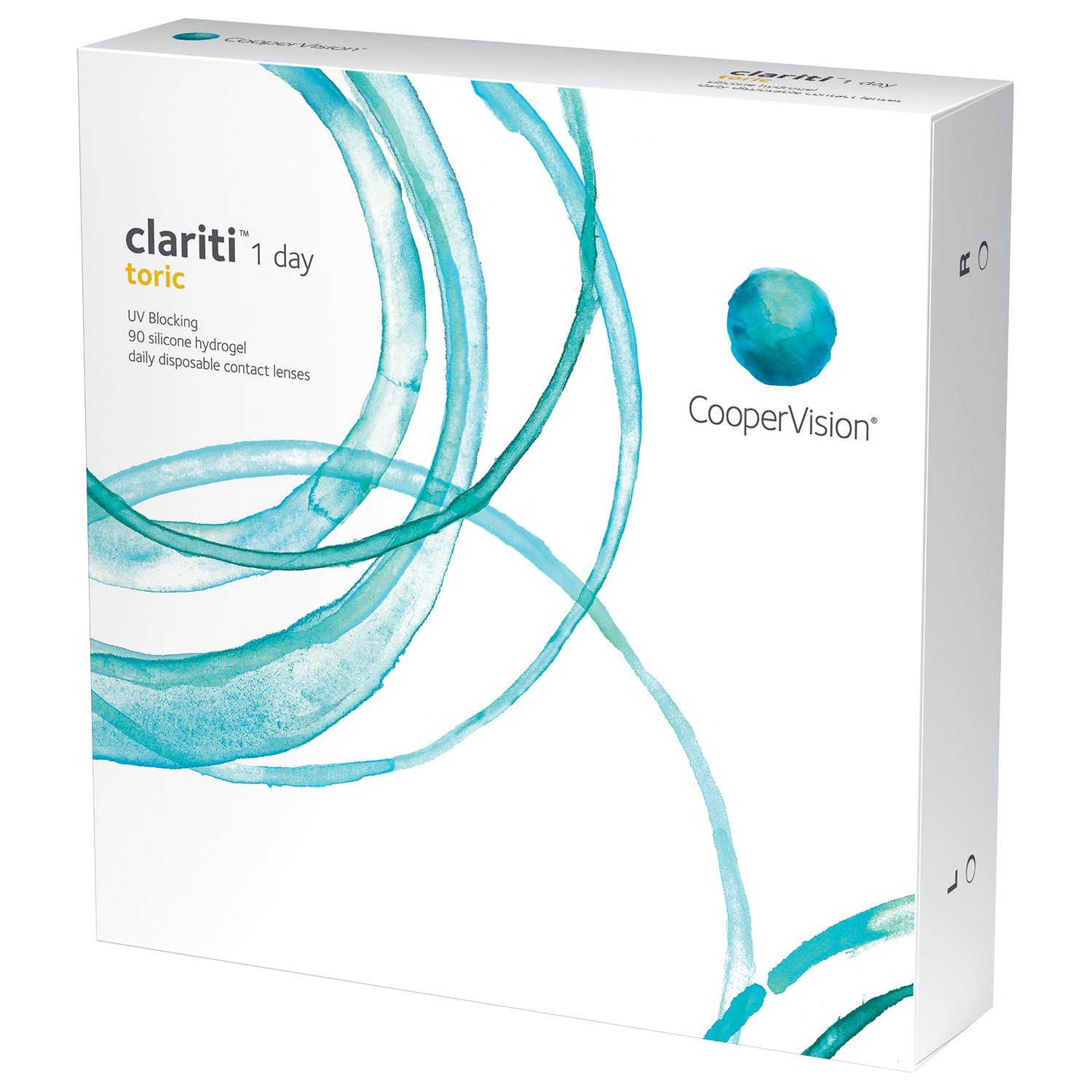 Clariti 1-day Toric 90-pack contact lenses