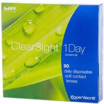 Clearsight 1 day 90pk contacts