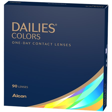 DAILIES Colors 90 Pack contacts