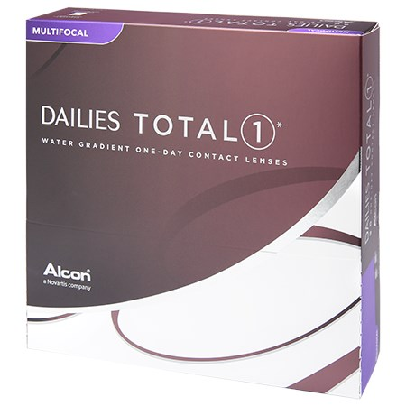 DAILIES TOTAL1 Multifocal 90pk contacts