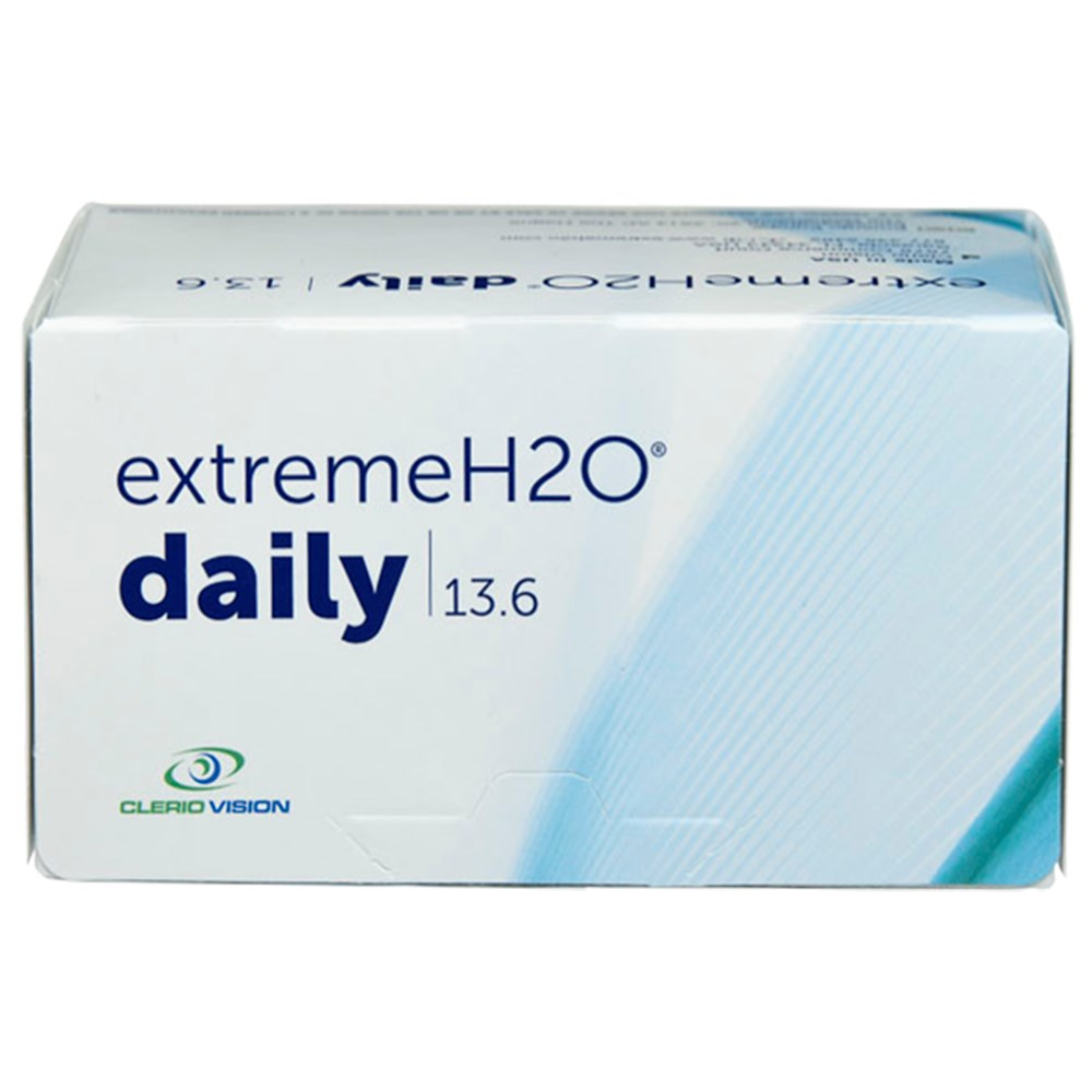 Extreme H2O Daily 30pk contact lenses