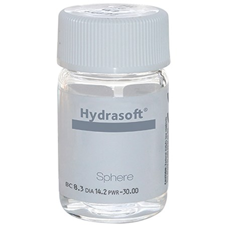 Hydrasoft sphere (vial) contact lenses