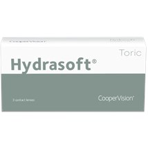 Hydrasoft toric thin (3 pack) contacts