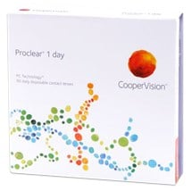 Proclear 1 day 90 pack contact lenses