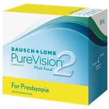 PureVision2 Multi-Focal For Presbyopia contact lenses