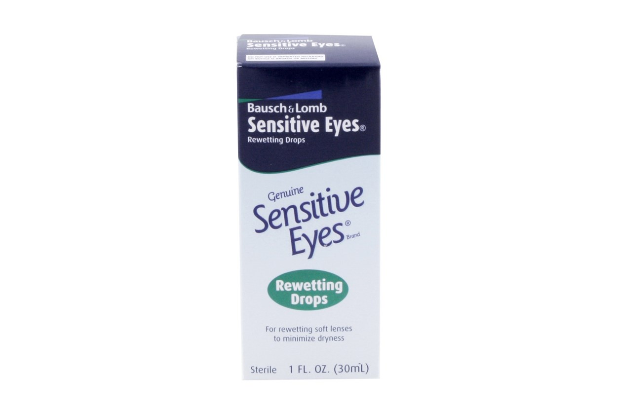 Bausch and Lomb Sensitive Eyes Contact Lens Rewetting Drops (1 fl. oz.) DryRedEyeTreatments