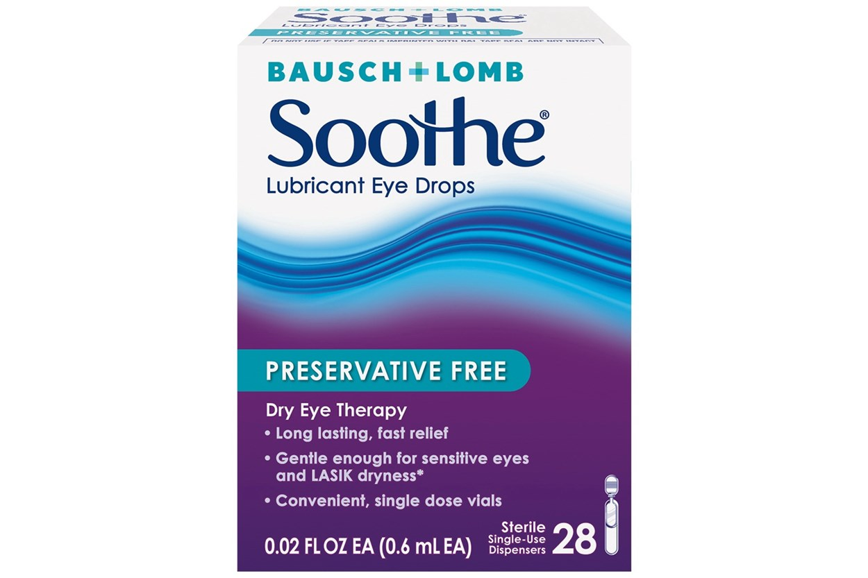Bausch and Lomb Soothe Lubricant Eye Drops (28 ct.) DryRedEyeTreatments