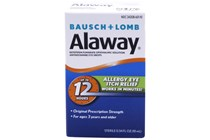 Alaway 60 Day Supply Eye Itch Relief Drops and Treatment (.34 fl oz)