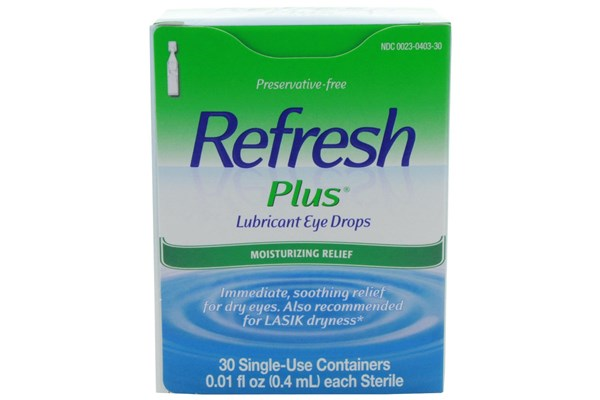 Refresh Plus Eye Drops (30 ct.) DryRedEyeTreatments