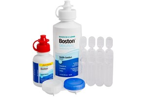 Click to swap image to alternate 1 - Boston Care System for Rigid Gas Permeable Hard Contact Lenses SolutionsCleaners