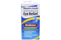 Bausch and Lomb Advanced Eye Relief Redness Instant Relief  Eye Drops (.5 fl oz)