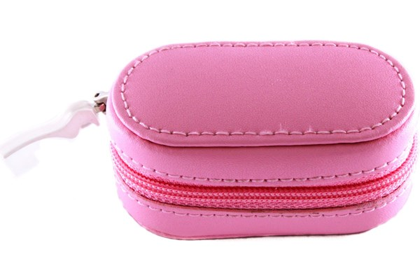 Amcon Leather Contact Lens Cases Cases - Pink
