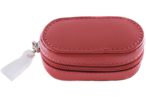 Amcon Leather Contact Lens Cases Cases - Red