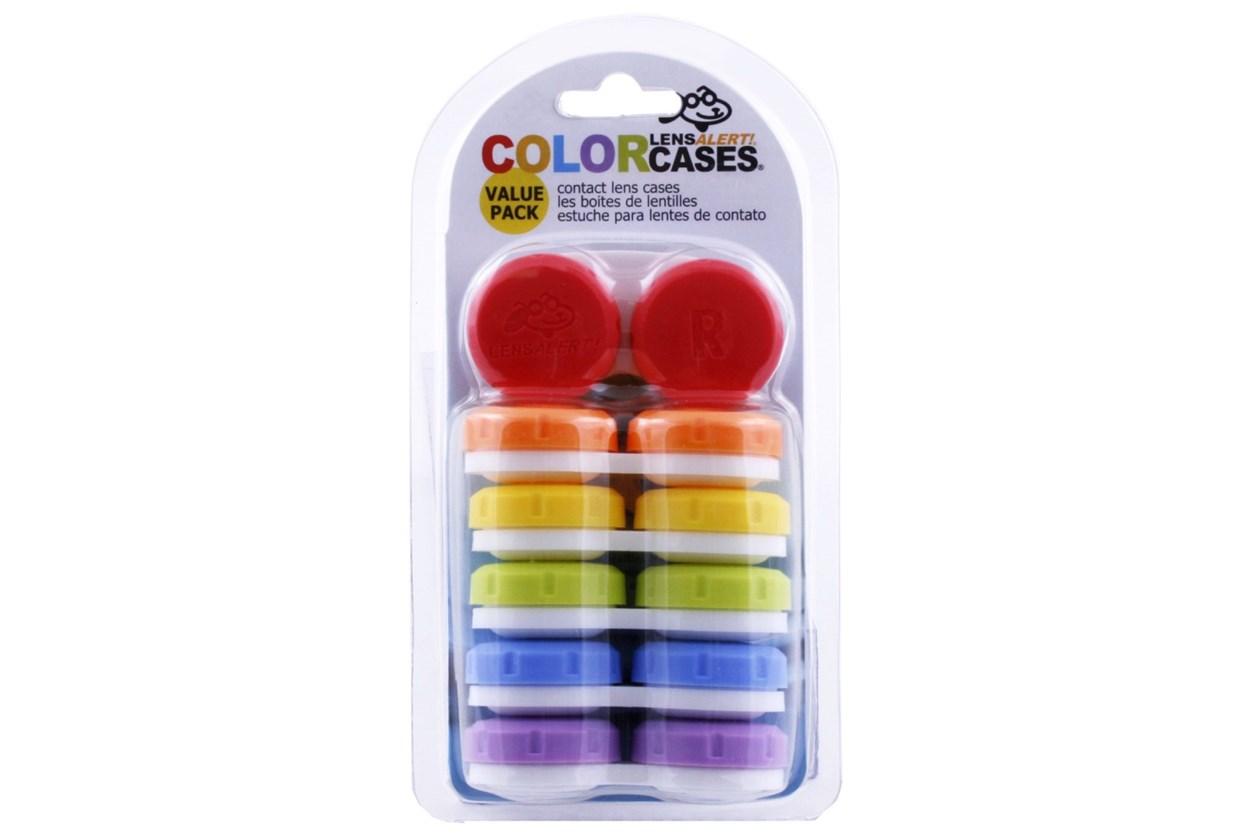 LensAlert Contact Lens Cases - 6 Pack Cases
