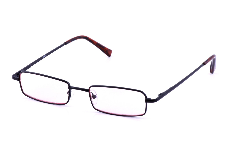 d217244b8d62 Medium Rectangle Black Computer Glasses - AC18221 by California Accessories