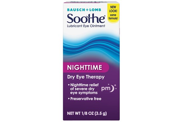 Bausch and Lomb Soothe Night Time Lubricant Eye Ointment (.12 fl. oz.) DryRedEyeTreatments