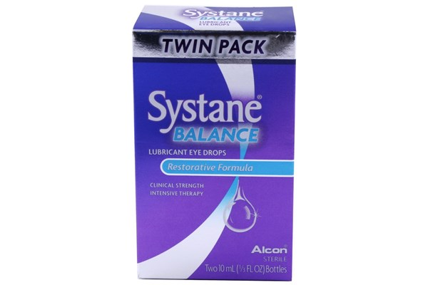 Systane Balance Restorative Formula Twin Pack (.33 fl. oz. each) DryRedEyeTreatments