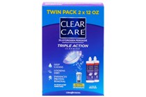 Ciba Vision Clear Care Contact Lenses Cleaning and Disinfecting Solution Twin Pack