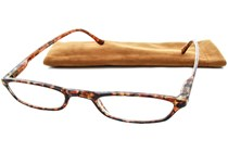 Peepers Slim Line Golden Tortoise Reading Glasses