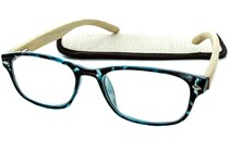 Peepers Bravo Bamboo Reading Glasses