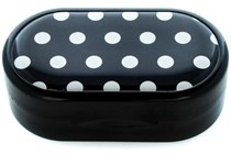 Amcon Polka Dot Designer Contact Lens Case