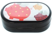 Amcon When Pigs Fly Designer Contact Lens Case