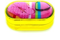 Amcon Sunshine Diva Designer Contact Lens Case
