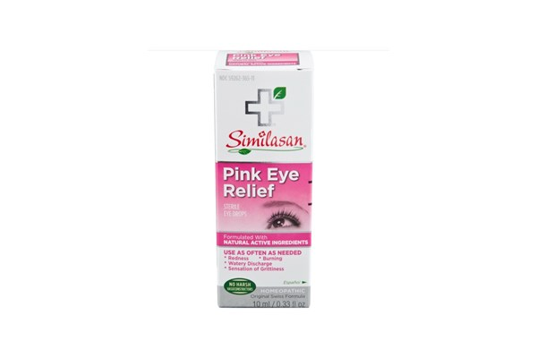 Similasan Pink Eye Relief Drops (.33 fl. oz.) DryRedEyeTreatments