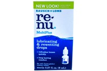 Bausch and Lomb Renu MultiPlus Contacts Lubricating & Rewetting Drops (.27 fl. oz.)