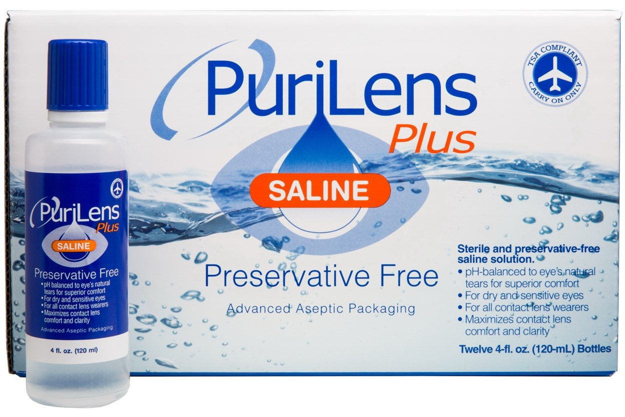 Purilens Plus Solution (12 Pack) SolutionsCleaners