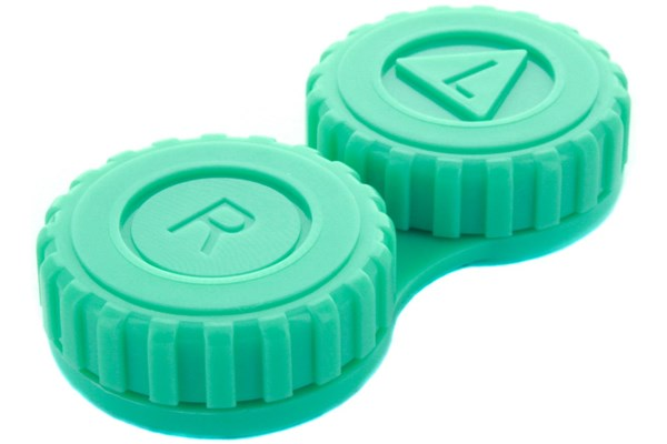 General Screw-Top Contact Lens Case Cases - Green