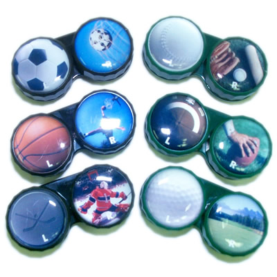 Sports Fitness and Leisure - Sports Contact Lens Case
