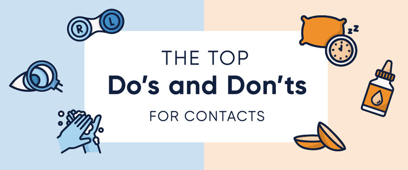 Do's and Don'ts for Contacts