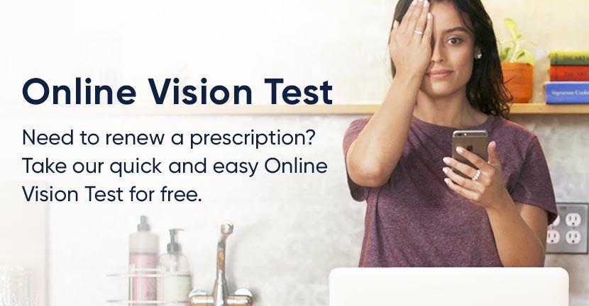 Online Vision Test